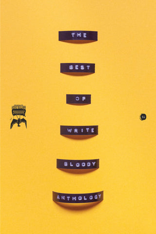 The Best Of Write Bloody Anthology Cover