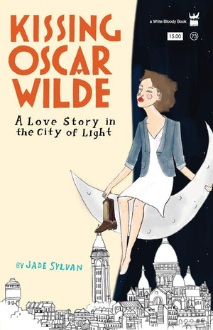 Kissing Oscar Wilde by Jade Sylvan