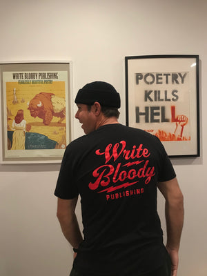 Write Bloody Lightning Bolt T-Shirt