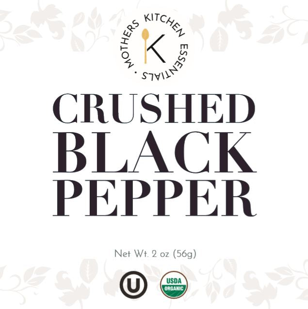 Organic & Kosher Crushed Black Pepper