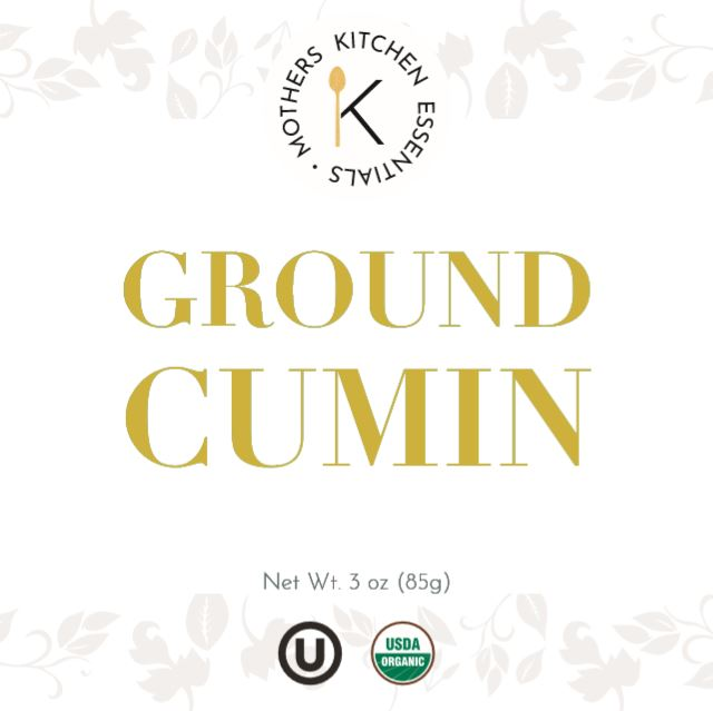 Organic & Kosher Ground Cumin