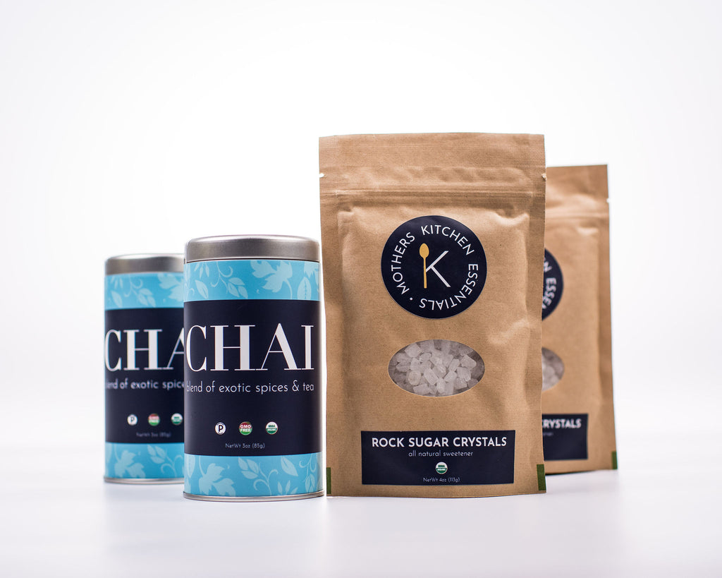 Chai Tea & Rock Sugar Crystals- Ultimate Gift Bundle