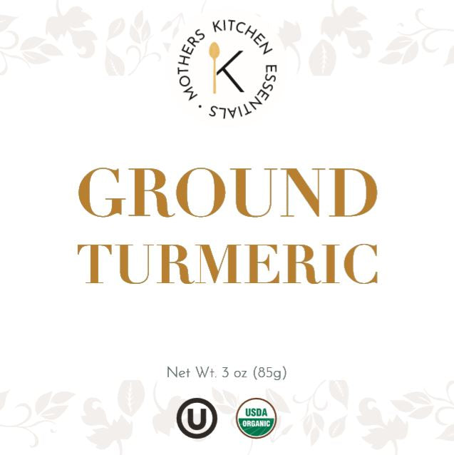 Organic & Kosher Ground Turmeric