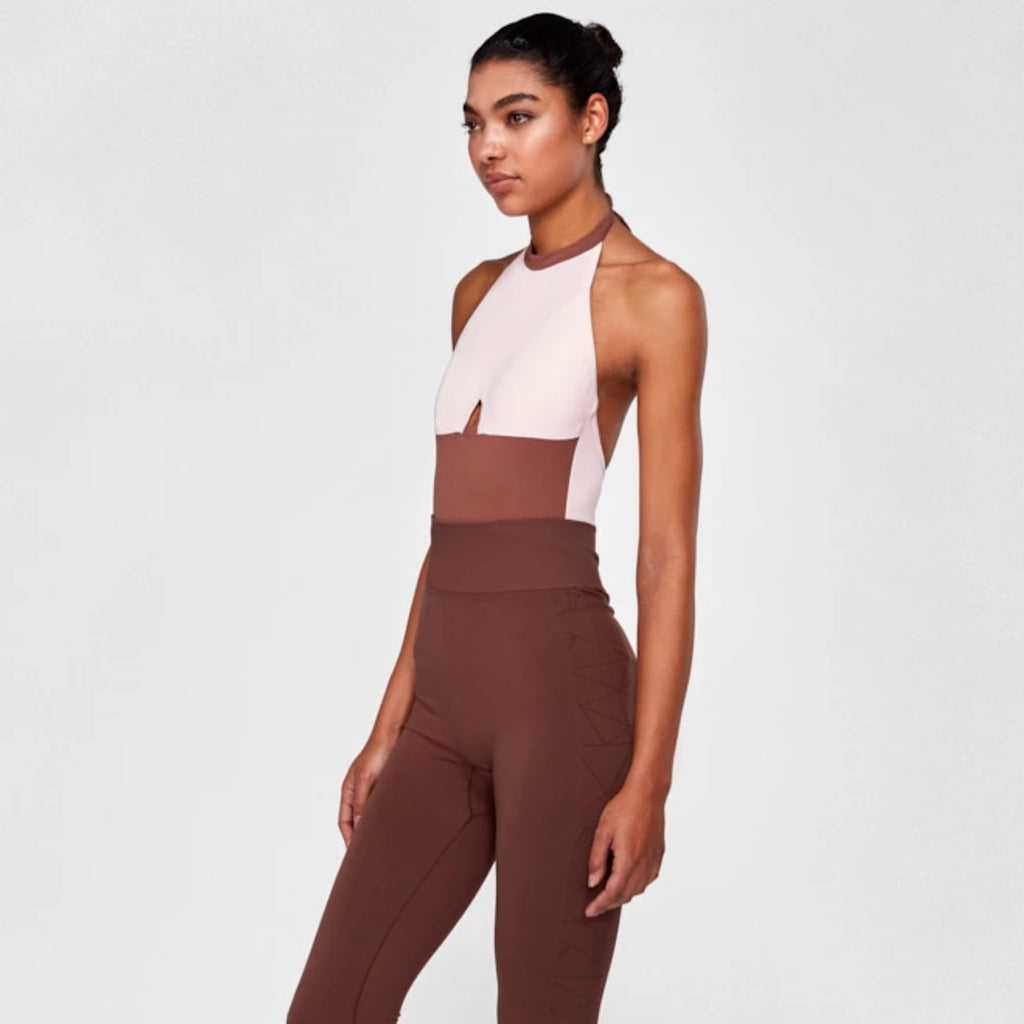 Salted Caramel Bodysuit | Dusty Pink