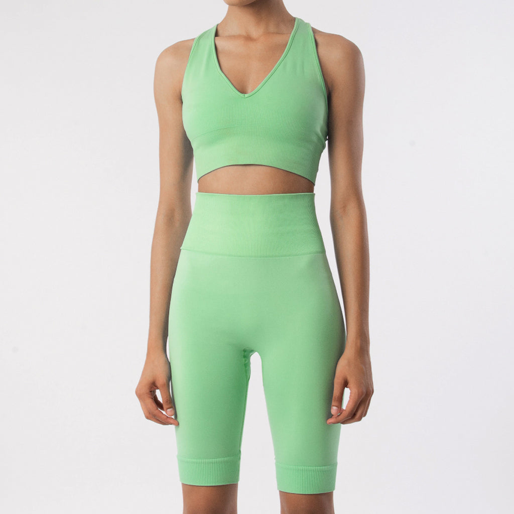 Breathe Sports Bra | Neon Mint