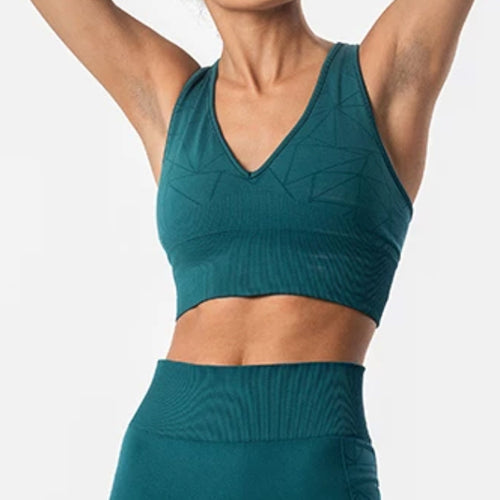 Breathe Sports Bra | Teal