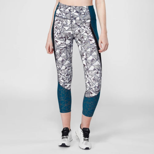 Power On Geometric Legging
