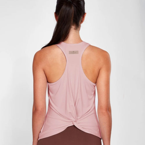 Isle Knot Vest Top | Dusty Pink