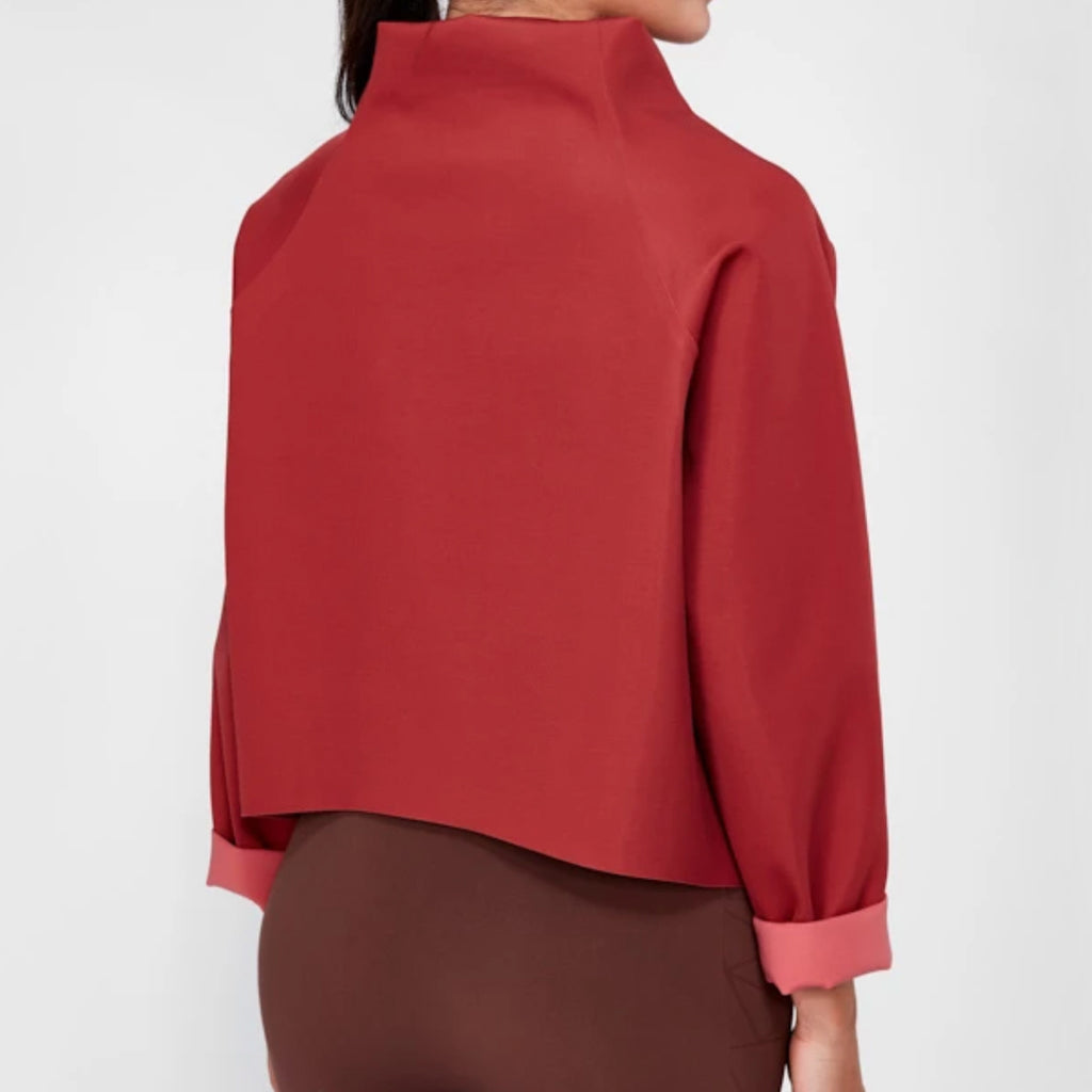 Reversible Sweater | Terracotta
