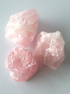 Rose Quartz Chunk Large 200g+
