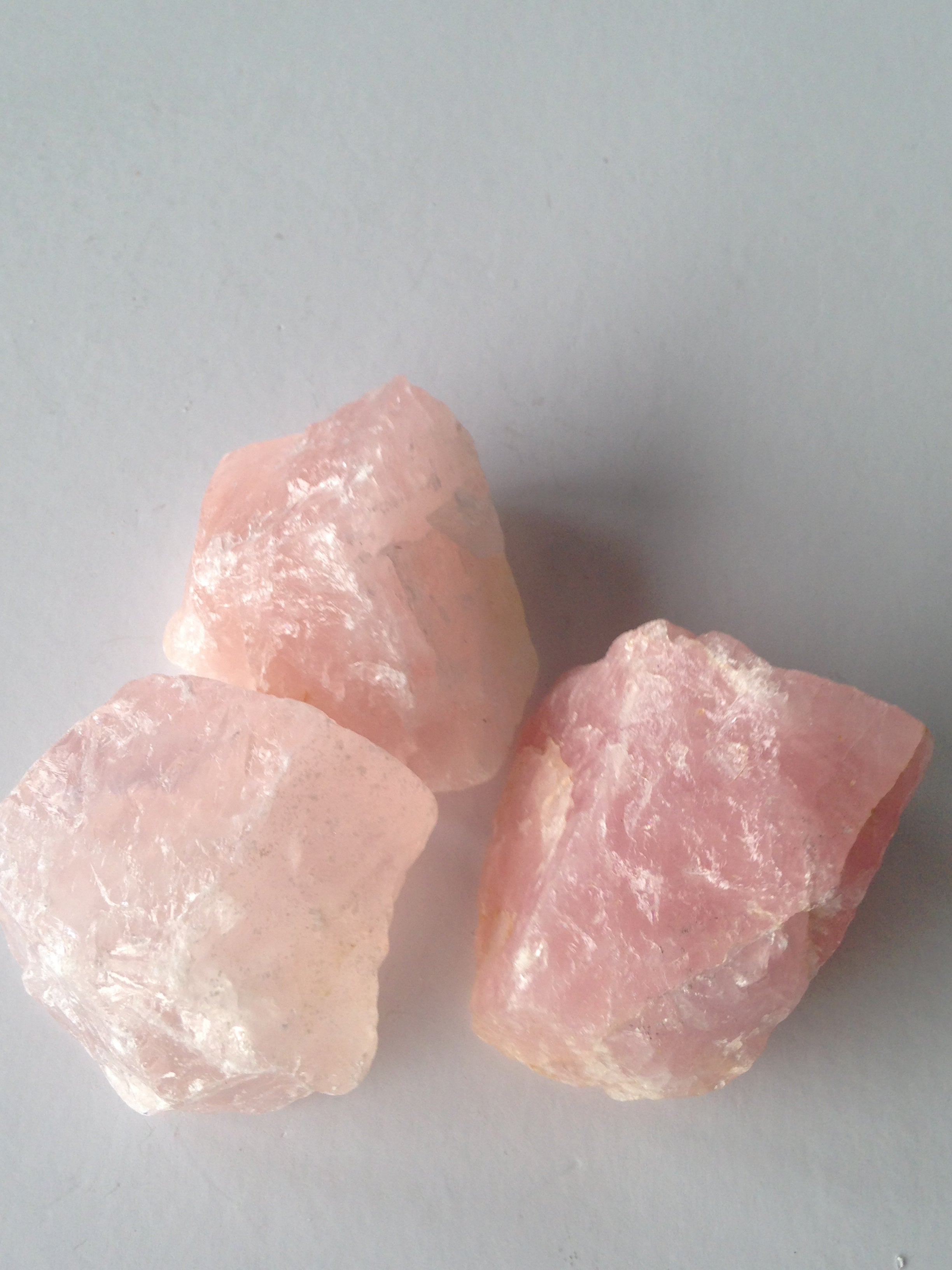 Rose Quartz Chunk - Small 40g+