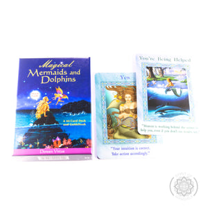 "Beautiful ""Magical Mermaids and Dolphins"" Oracle Cards"