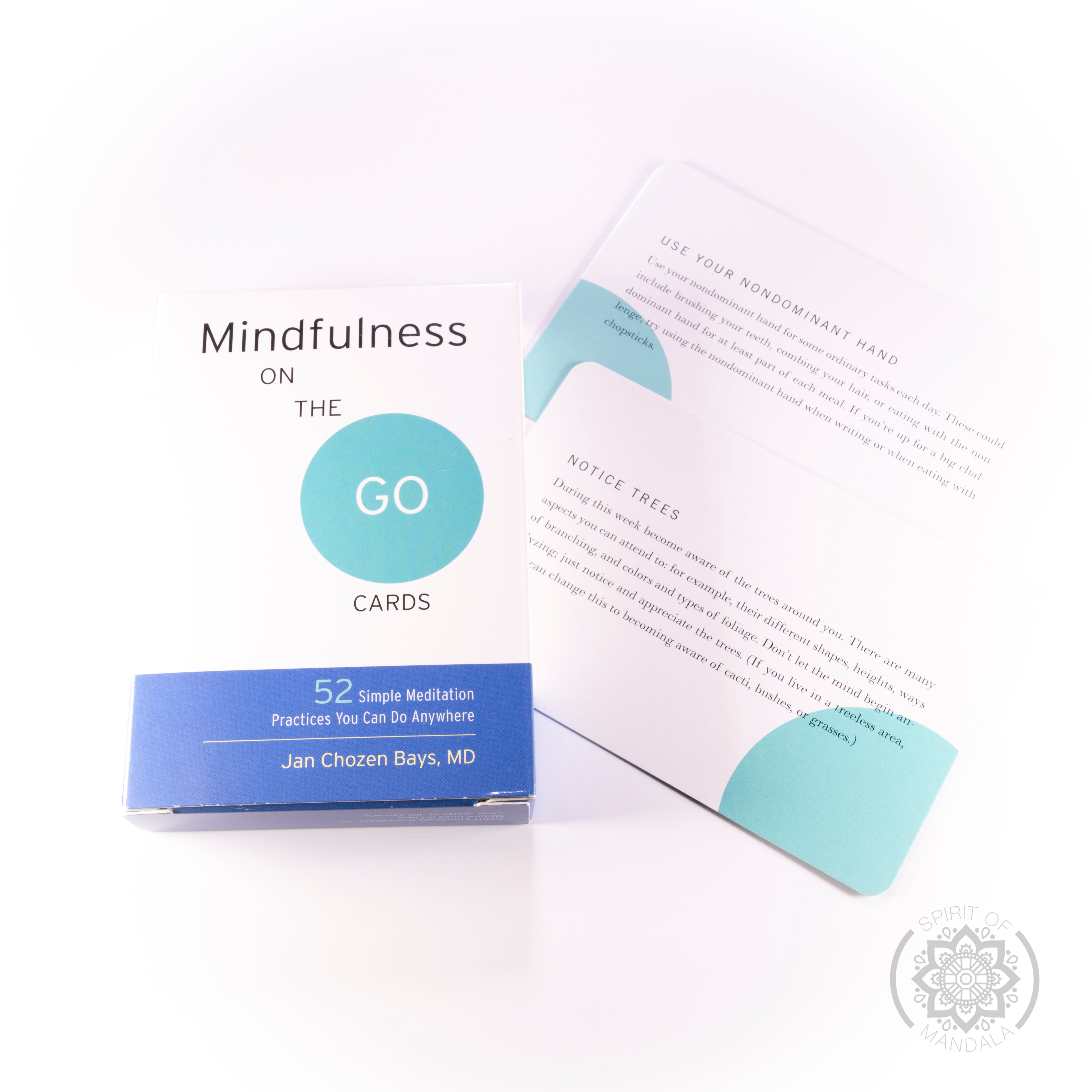 """Mindfulness On The Go"" Oracle Cards"