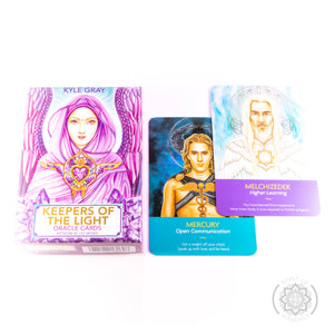 """Keeper's Of The Light"" Oracle Cards"