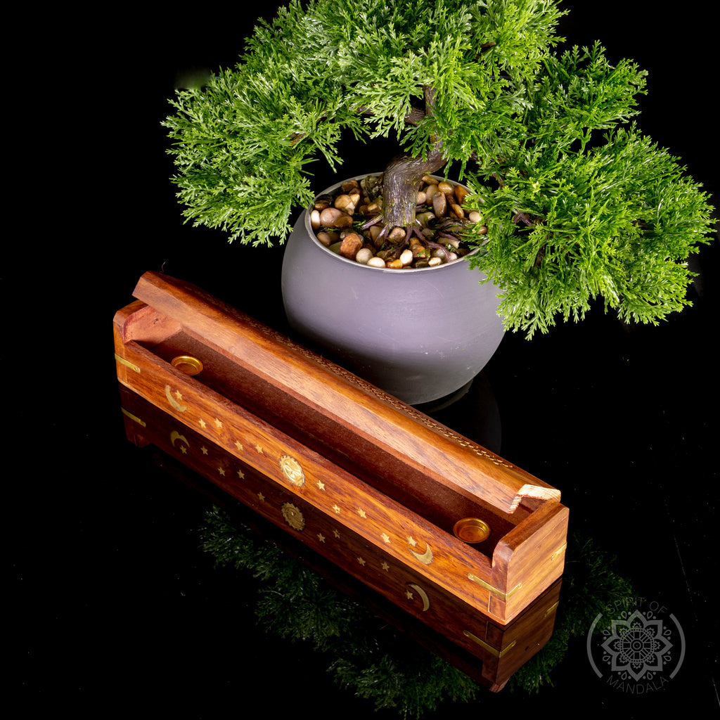Wooden Incense Box Incense