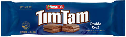 Arnotts Tim Tam Double Coat 200g - Aussie Food Express