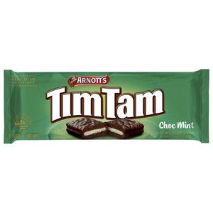 Arnotts Tim Tam Chocolate Mint 160g - Aussie Food Express