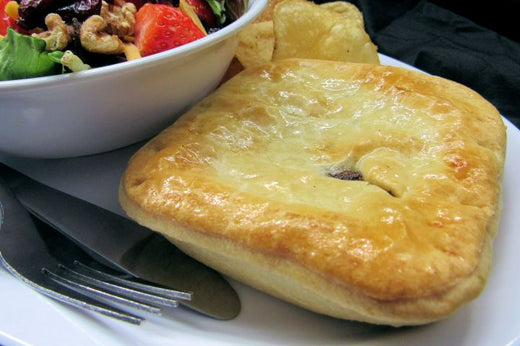 Australian Meat Pies - 24 Meat Pies - Click on the Picture to choose your shipping Zone - Aussie Food Express