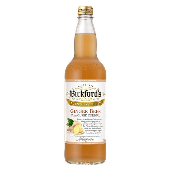 Bickfords Ginger Beer Cordial 750ml