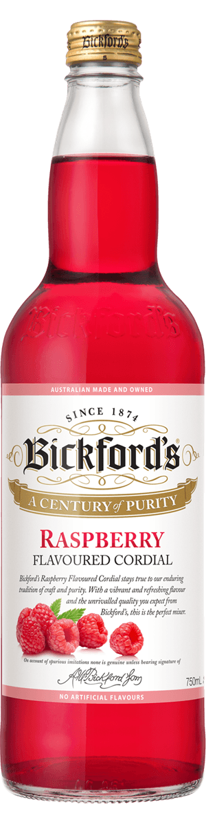 Bickfords Raspberry Cordial 750ml