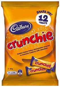 Cadbury Crunchie Share Pack 180g - Aussie Food Express