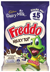 Cadbury Freddo MILKY TOP Share Pack 180g - Aussie Food Express