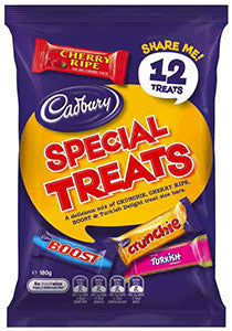 Cadbury Special Treats Share Pack 180g - Aussie Food Express