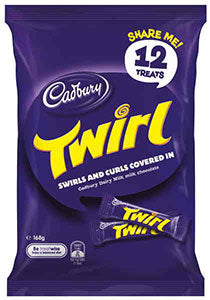 Cadbury Twirl Share Pack 180g - Aussie Food Express