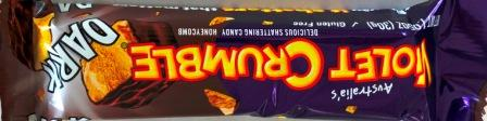 DARK CHOCOLATE Violet Crumble Bar 30g