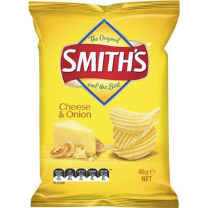 Smiths Chips - CHEESE & ONION 45g