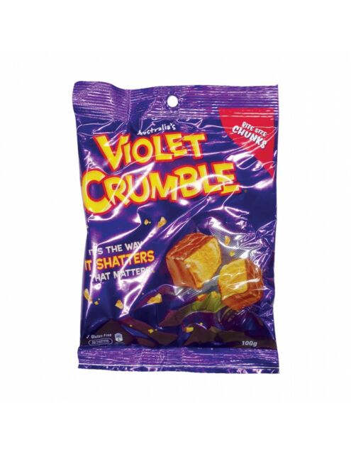 Violet Crumble Bite Size CHUNKS 170g