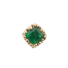 Load image into Gallery viewer, #40 The Green Emerald Stud