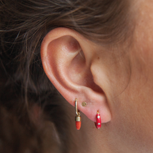 Load image into Gallery viewer, #56 Coral Earring