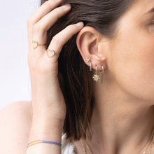 Load image into Gallery viewer, #64 Gold Bar Earring