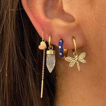 Load image into Gallery viewer, #53 Dragonfly Earring