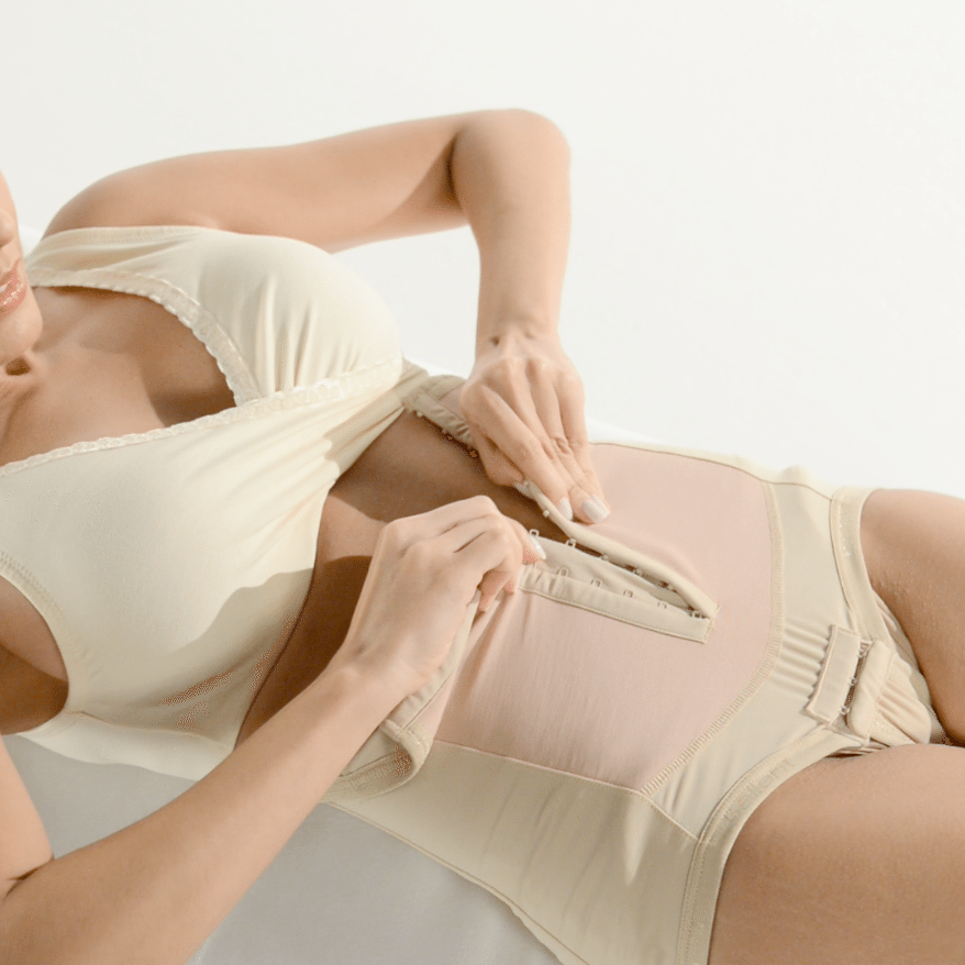 How to Put on a Bellefit Girdle for Women Video