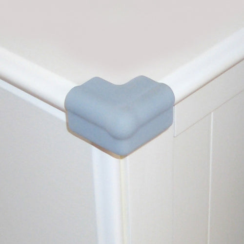 baby proofing sharp corners with corner cushions from Dreambaby
