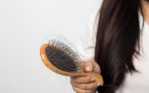 After birth woman experience hair loss, but it stops once hormones go back to normal.