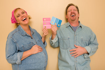 wait until your gender reveal party to learn the gender of your baby