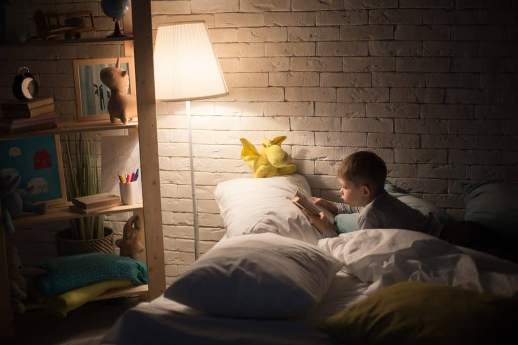 Put some night light in your child's room for night safety, baby proof your house to avoid accidents