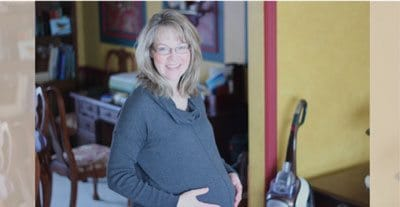 mom of nine recommends bellefit girdles Natalie pregnant at home