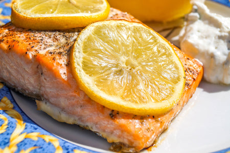Salmon is one of the best foods to eat while pregnant.