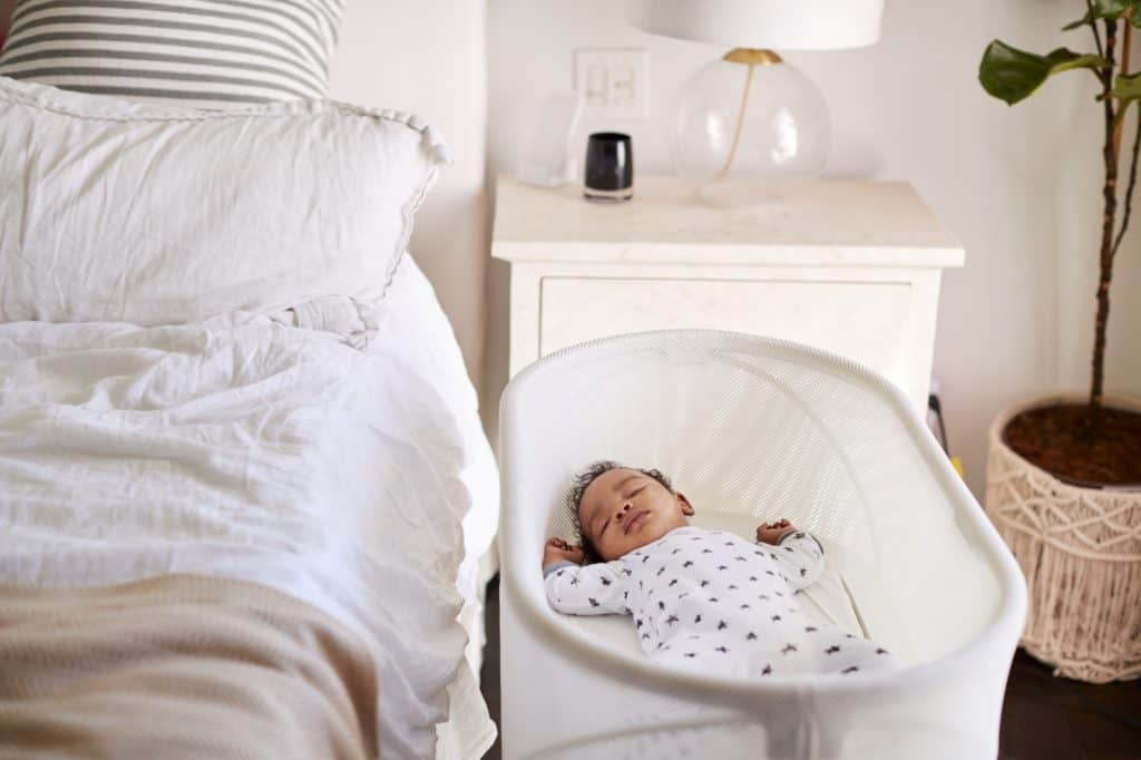 newborn sleep patterns baby cradle