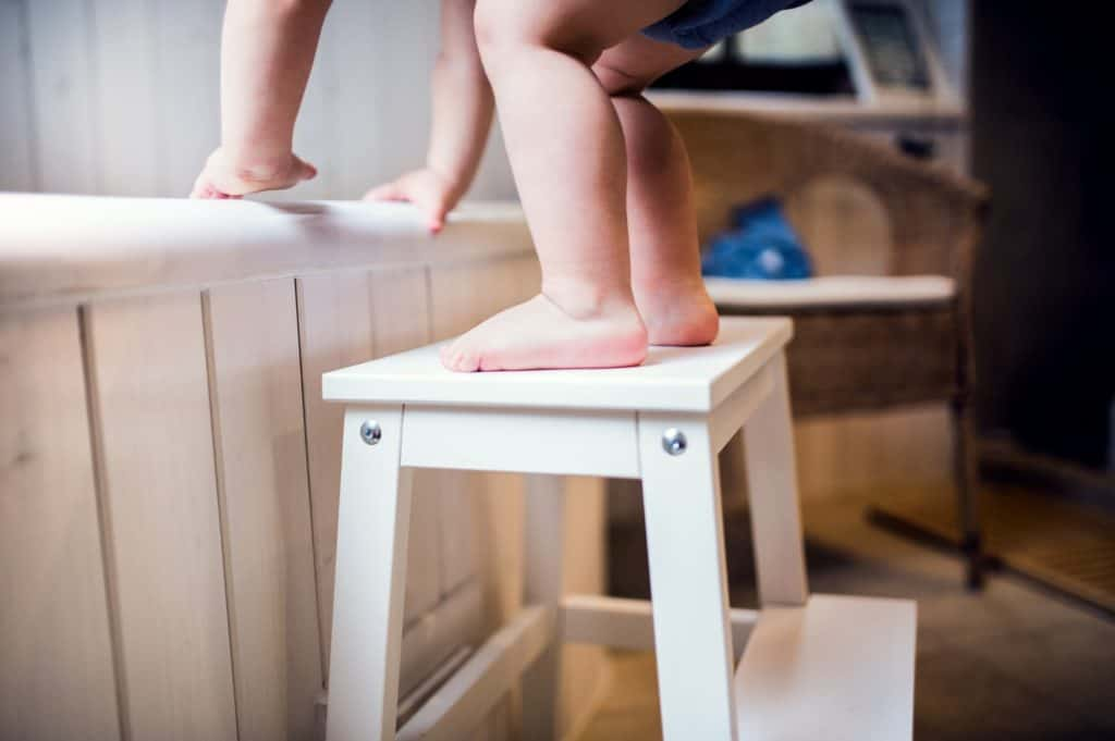 Step stools is another addition to your child's safety products