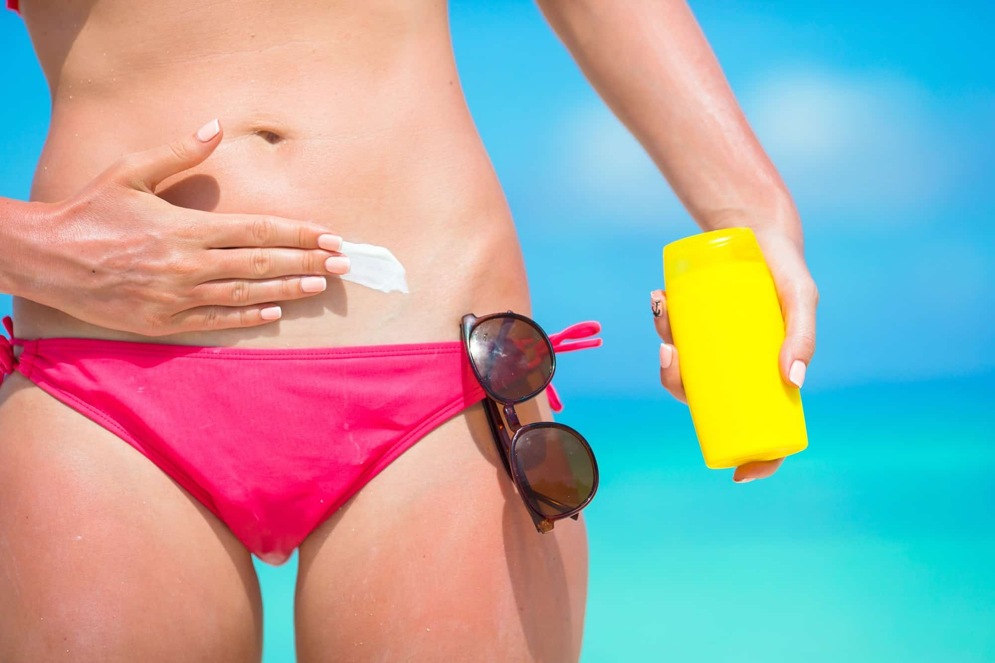 Buy sunscreens made up of natural ingredients rather than harsh chemicals