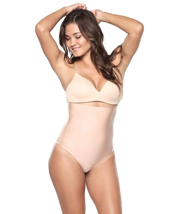 Seamless High Waist Control Thong