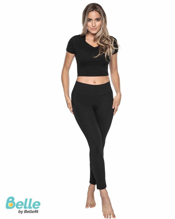 Butt Shaper Leggings with Pockets Lifestyle