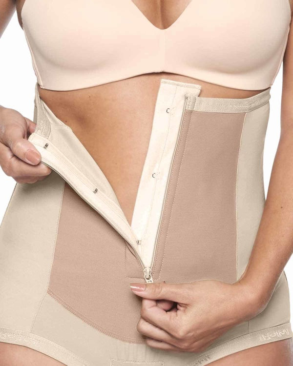 Girdle with Front Zipper