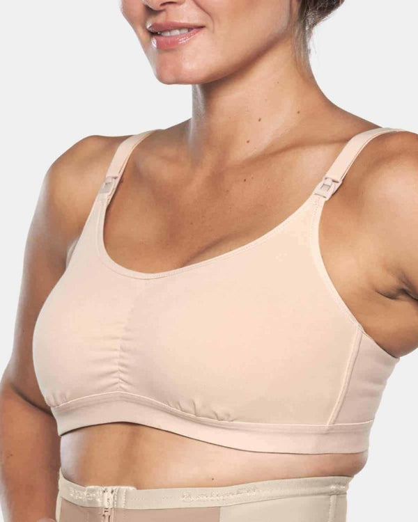 Bellefit Full Coverage, No Wire, Clip Down Nursing Bra