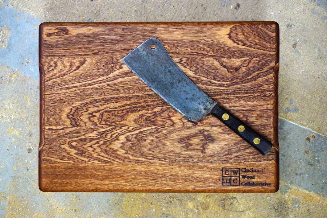 Sapele Cutting Board- 17 1/2